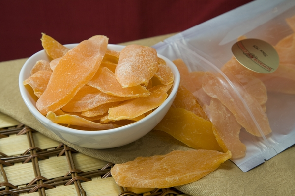 Dried Mango - Less Sugar Added (1 Pound Bag)