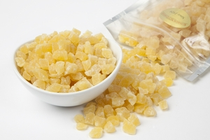 Dried Pineapple - Diced (1 Pound Bag)