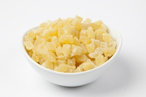 Dried Pineapple - Diced (11 Pound Case)
