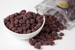 Dried Red Raspberries (1 Pound Bag)