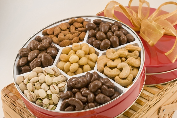 Executive Assortment of Nuts Gift Tin