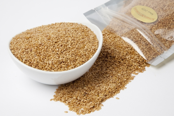 Golden Flax Seed (4 Pound Bag)