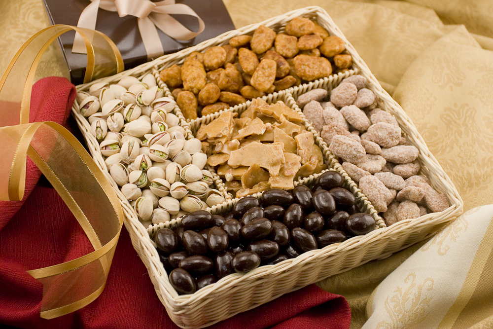 & Gourmet Nut Gift Baskets - Gourmet Baskets Gourmet Nut Baskets