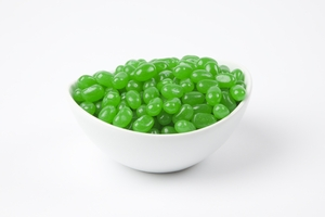 Green Apple Jelly Beans (5 Pound Bag) - Green