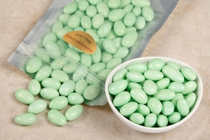 Green Jordan Almonds (1 Pound Bag)