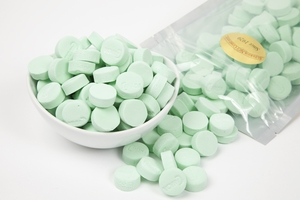Green Spearmint Canada Mints (1 Pound Bag)