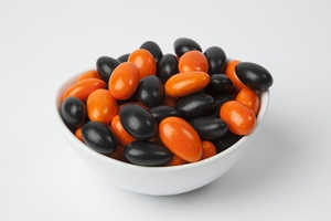 Halloween Jordan Almonds (10 Pound Case)
