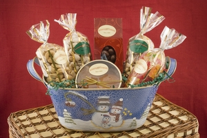 Holiday Gourmet Nut Basket