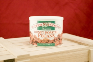 Honey Roasted Pecans, 5.5oz Canisters (Pack of 3)