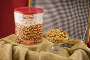 Honey Roasted Virginia Peanuts (3.5 Pound Can)