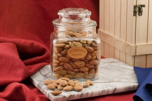 Jumbo California Almonds (24oz Decanter)