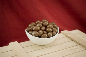Milk Chocolate Covered Almonds (10 Pound Case)