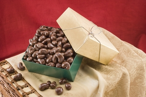 Milk Chocolate Covered Cashews Gift Box