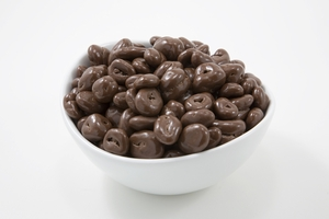 Milk Chocolate Covered Cranberries (10 Pound Case)