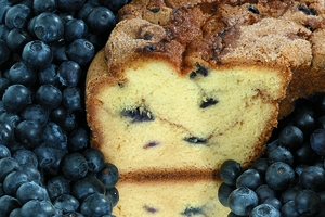 My Grandma's New England Blueberry Coffee Cake