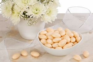 Orange Jordan Almonds (5 Pound Bag)