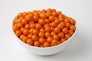 Orange Sixlets (4 Pound Bag)