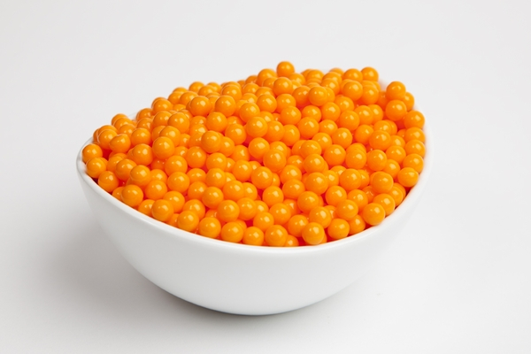 Orange Sugar candy Beads (10 Pound Case)