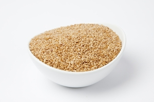 Organic Golden Flax Seeds (10 Pound Case)