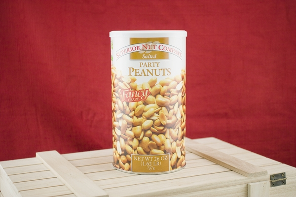 Party Peanuts, 26oz Canisters (Pack of 2)