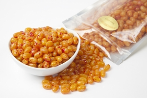 Peach Jelly Beans (1 Pound Bag) - Orange