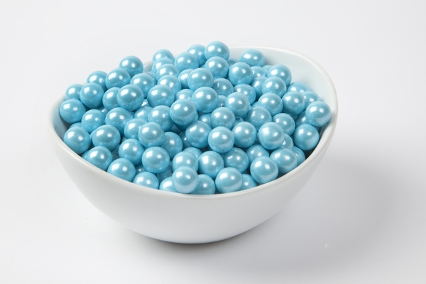 Pearl Powder Blue Sixlets (4 Pound Bag)