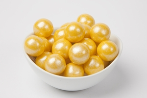 Pearl Yellow Gumballs (14 Pound Case)