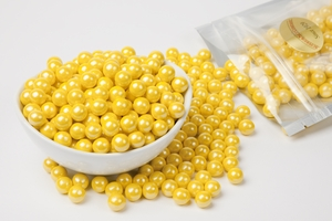 Pearl Yellow Sixlets (1 Pound Bag)