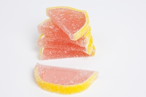 Pink Grapefruit Fruit Slices (10 Pound Bag)