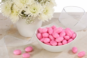 Pink Jordan Almonds (5 Pound Bag)