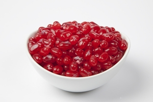 Pomegranate Jelly Belly Jelly Beans (5 Pound Bag) - Red