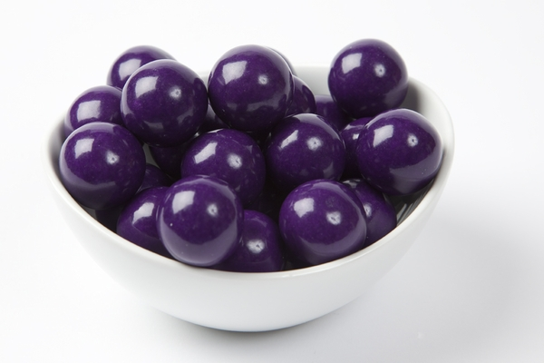 Purple Gourmet Gumballs (14 Pound Case)