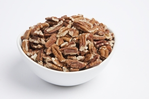 Raw Large Pecan Pieces (4 Pound Bag)