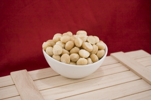 Raw Whole Macadamias (1 Pound Bag)