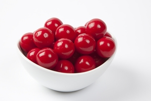 Red Gourmet Gumballs (4 Pound Bag)