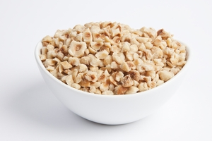 Roasted and Chopped Filberts - Regular Chop (4 Pound Bag)