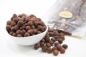 Roasted Oregon Hazelnuts (1 Pound Bag)
