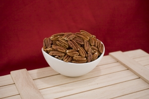 Roasted Pecan halves (10 Pound Case)