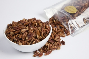 Roasted Pecan Pieces (1 Pound Bag)
