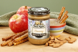 Roasted Smooth Almond Butter (1 Pound Jar)