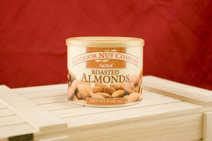 Salted Almonds, 7.5oz Canisters (Pack of 3)