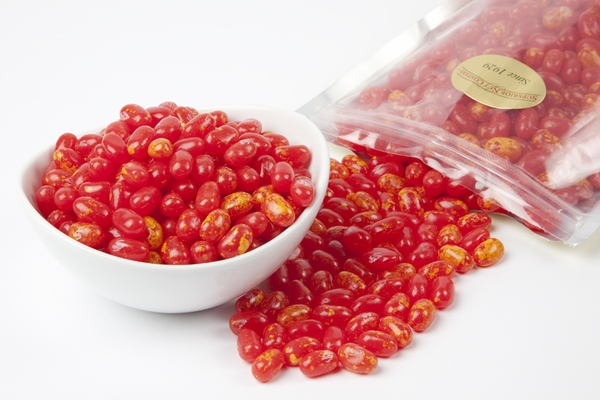 Sizzling Cinnamon Jelly Belly Jelly Beans (1 Pound Bag) - Red
