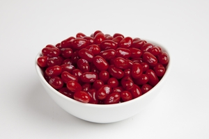 Strawberry Jam Jelly Belly Jelly Beans (10 Pound Case) - Red