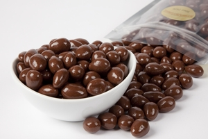 Sugar-Free Chocolate Covered Almonds (1 Pound Bag)