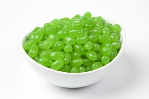 Sunkist Lime Jelly Belly Jelly Beans (5 Pound Bag) - Green