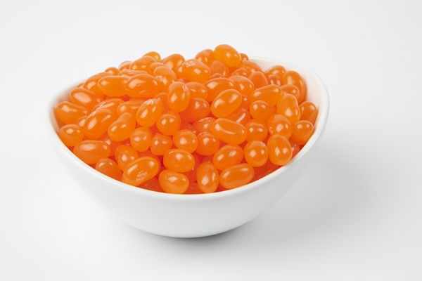 Sunkist Tangerine Jelly Belly Jelly Beans (10 Pound Case) - Orange