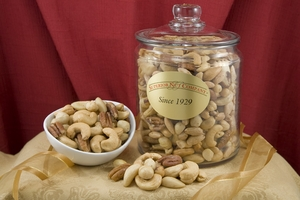 Superior Mixed Nuts (5.5 Pound Glass Jar)