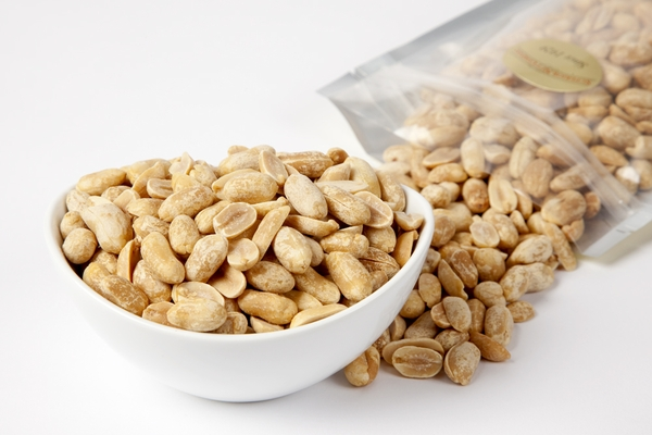 Unsalted Dry Roasted Virginia Peanuts (1 Pound Bag)