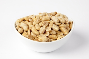 Unsalted Dry Roasted Virginia Peanuts (4 Pound Bag)