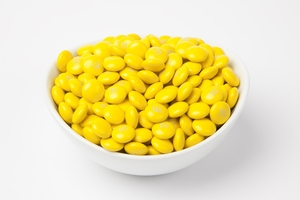 Yellow  M&M's Candy (5 Pound Bag)